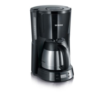 Severin  KA 4141 Kaffeeautomat mit Timer schwarz-Edelstahl | 4008146016059