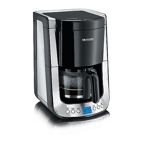 Severin KA 4460 Kaffeautomat mit Timer Supreme Edelstahl-schwarz | 4008146017841