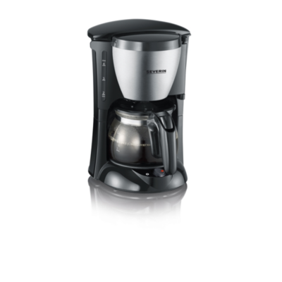 Severin  KA 4805 Kaffeautomat 650W schwarz-Edelstahl-gebürstet | 4008146018893