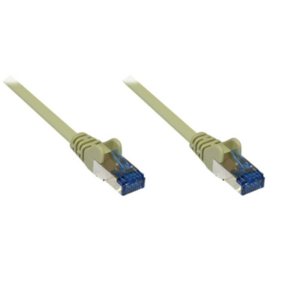 Good Connections  Patchkabel Cat. 6a S/FTP, PiMF halogenfrei 500MHz grau 20m | 4014619477012
