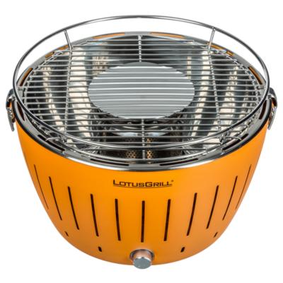 LotusGrill  G-OR-34 Holzkohlegrill 34cm rauchfrei, mandarinorange   4260023019953