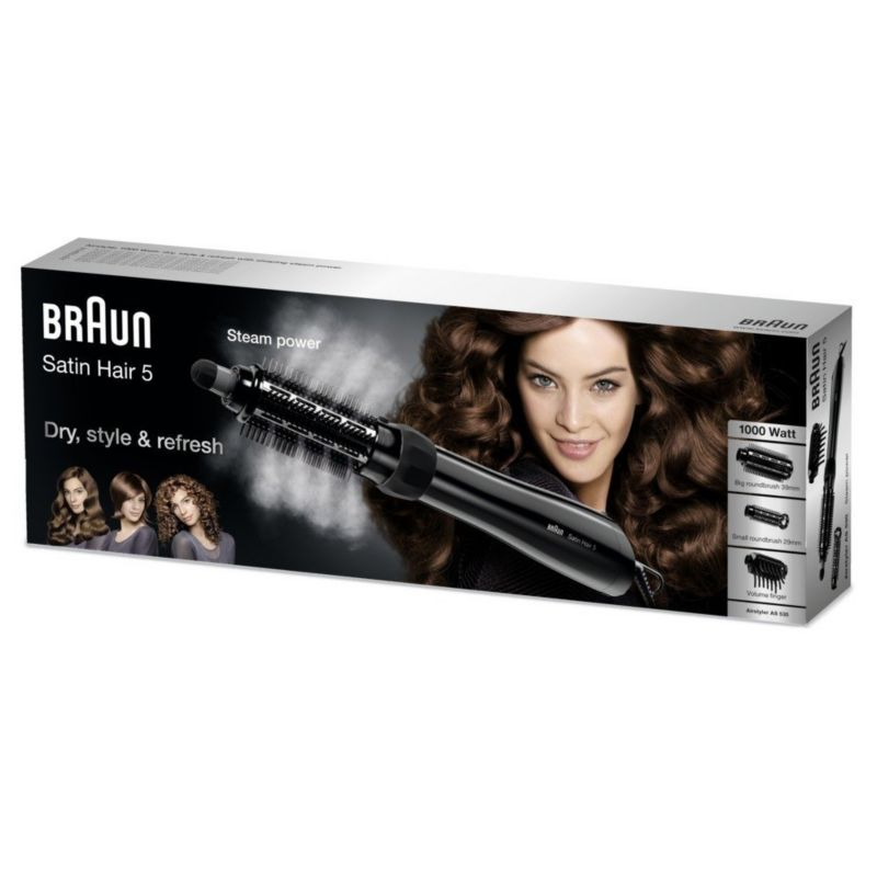 Braun Satin Hair 5 AS 530 Warmluftlockenbürste schwarz