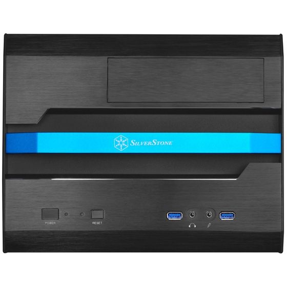 SilverStone SUGO SG12B Mini Tower mATX/Mini-ITX Gehäuse USB3.0 black