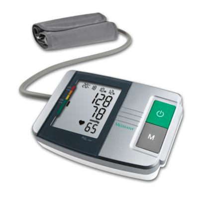 Medisana  MTS Oberarm-Blutdruckmessgerät schwarz/silber | 4015588511523