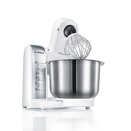 Bosch Mum4880 Kuchenmaschine Weiss Silber Cyberport