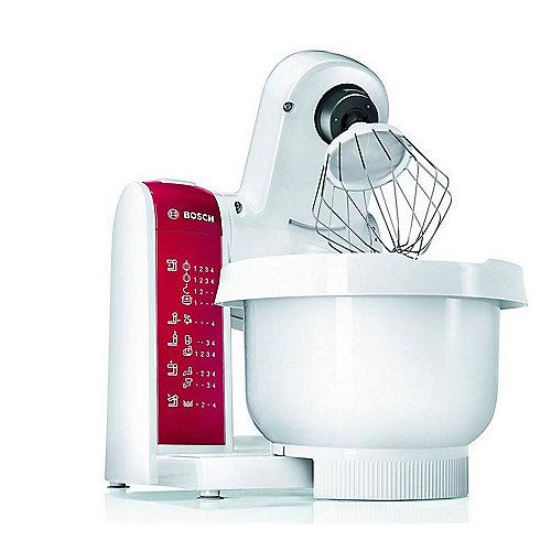 Bosch Mum48010de Kuchenmaschine Weiss Rot Cyberport