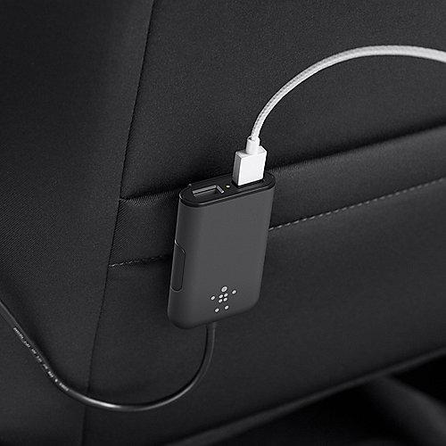 Belkin Road Rockstar 4 fach USB Auto Ladegerät Schwarz ++