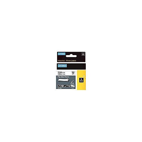 S0718100 flexibles Nylonband weiss 1,2cmx3,5m selbstklebend UL969 RhinoPro | 0071701184887