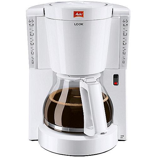 Melitta Look 1011-01 Kaffeemaschine weiß | 4006508209842