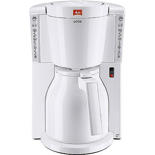 Melitta Look Therm 1011-09 Kaffeemaschine weiß | 4006508212699