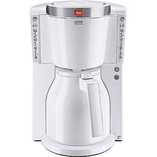 Melitta Look Therm Selection 1011-11 Kaffeemaschine weiß | 4006508212675