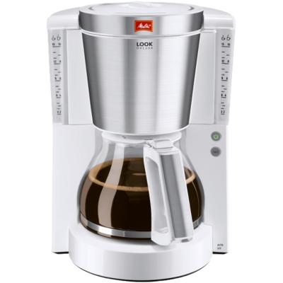 Melitta  Look DeLuxe 1011-05 Kaffeemaschine weiß-Edelstahl | 4006508209798
