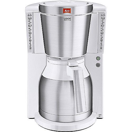 Melitta Look Therm DeLuxe 1011-13 Kaffeemaschine weiß | 4006508212651