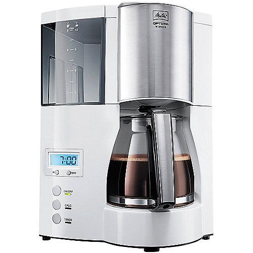 Melitta Optima Timer 100801 Kaffemaschine weiß | 4006508203239