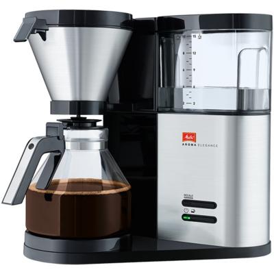 Melitta  Aroma Elegance Therm 1012-04 Kaffeemaschine silber | 4006508212729