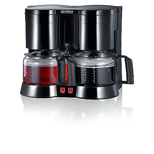 Severin KA 5802 Duo-Kaffeautomat 2x 750 Watt | 4008146017599