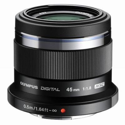 Olympus  M.Zuiko 45mm 1.8 MSC Festbrennweite Objektiv schwarz | 4545350044138