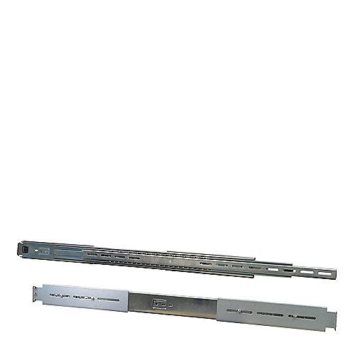 InterTech Teleskopschienensatz 55-65 cm 88887129 1HE Silber | 4260133126510
