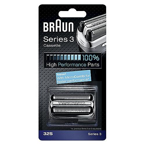 Braun Scherteile Kombipack Series 3 – 32S silber | 4210201115861