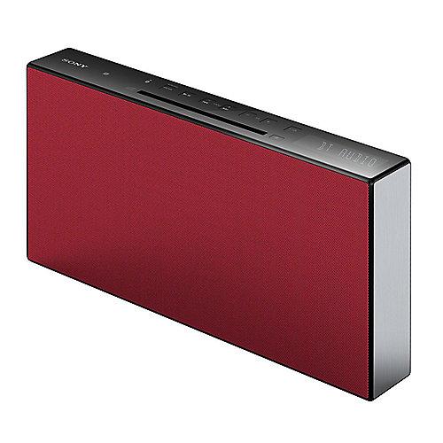 SONY CMT-X3CD Hi-Fi-Anlage mit Bluetooth und NFC rot