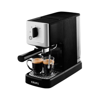 Krups XP 3440 Siebträger Espresso Automat 1460 Watt Schwarz Edelstahl