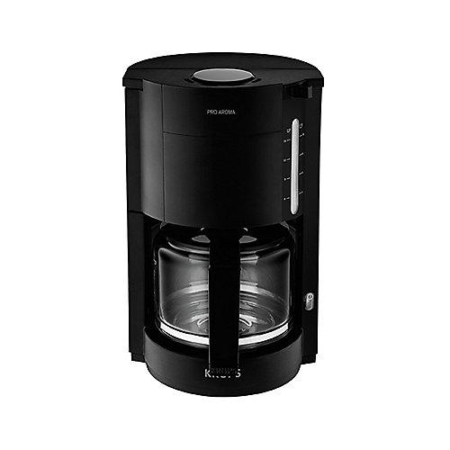 Krups F 309 08 Glas-Kaffeemaschinen Proaroma Schwarz Matt | 3045386362707