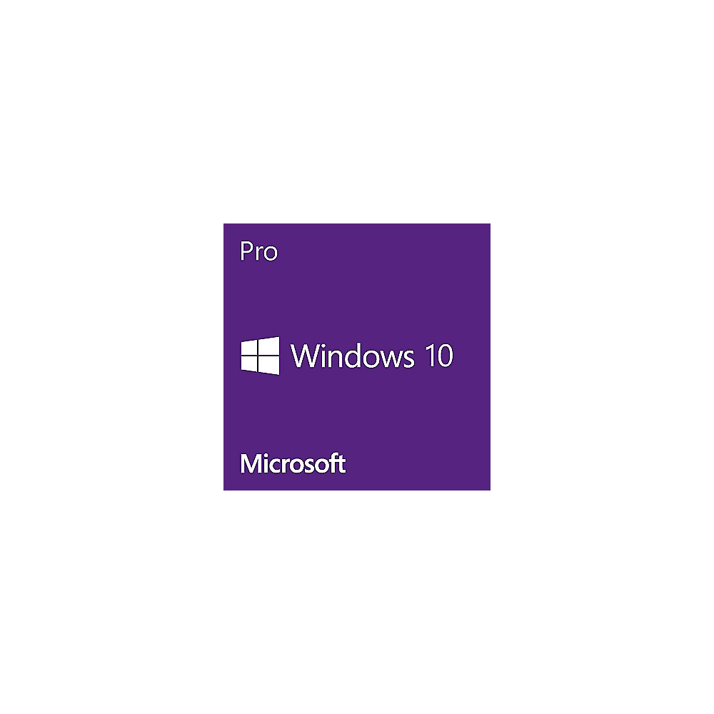 Windows 10 Pro 64 Bit Microsoft OEM Vollversion