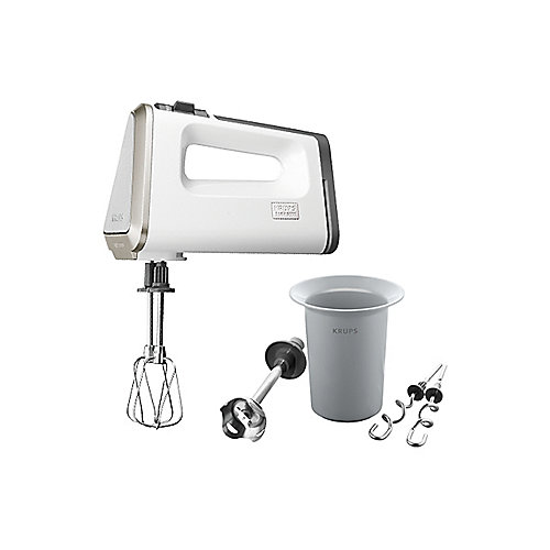 Krups GN 9031 White Collection Handmixer 3 Mix 9000 Deluxe Schnellmixstab