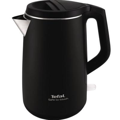 Tefal  KO 3718 Wasserkocher 1,5 Liter Schwarz / Edelstahl | 3045386371334