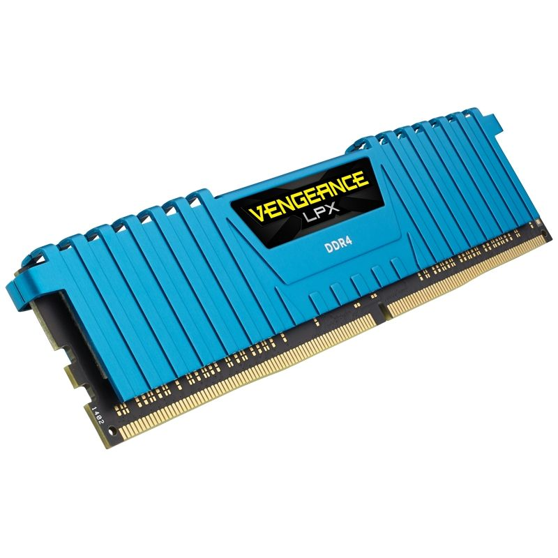 16GB (4x4GB) Corsair Vengeance LPX Blau DDR4-2133 RAM CL13 (13-15-15-28)