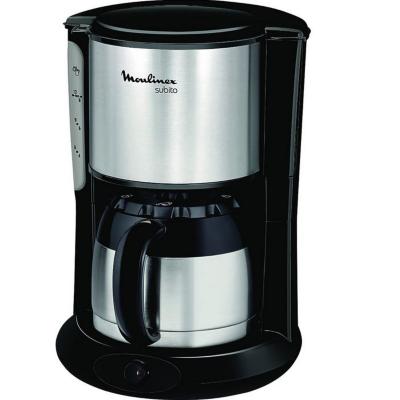 Moulinex  FT3608 Thermo-Kaffeemaschine Subito Edelstahl Matt/Schwarz   3045386369515