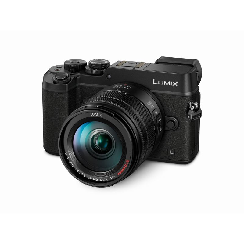 Panasonic Lumix DMC-GX8 Kit 14-42mm schwarz Digitalkamera