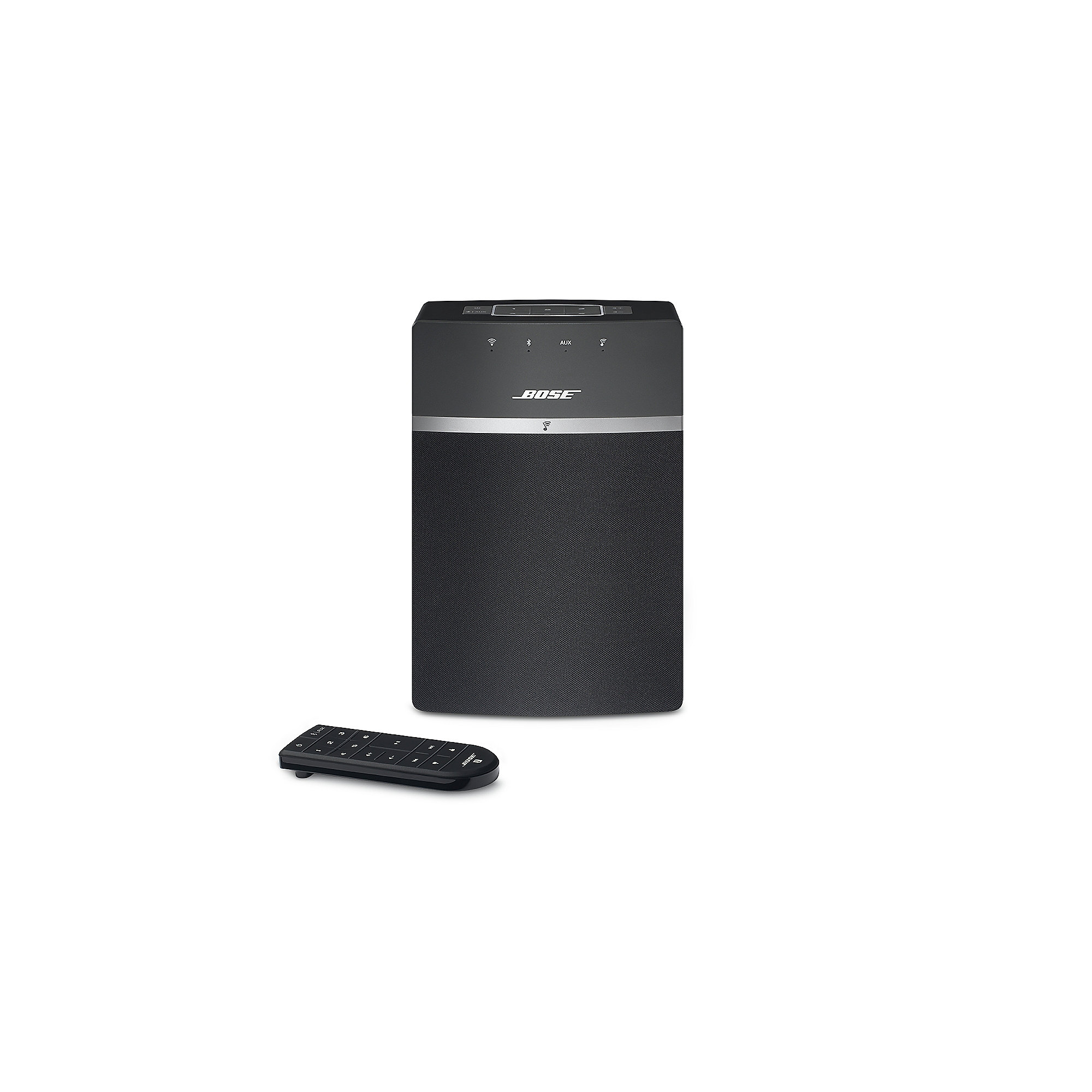 bose soundtouch 10 schwarz netzwerk lautsprecher cyberport. Black Bedroom Furniture Sets. Home Design Ideas