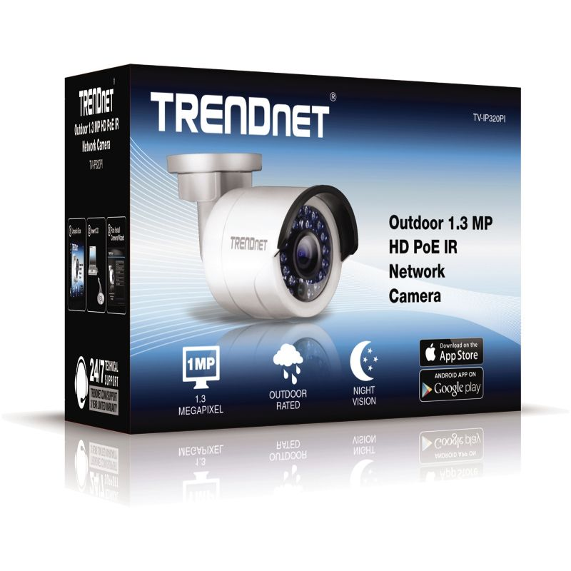 TRENDnet TV-IP320PI Outdoor 1.3 MP HD PoE IR Netzwerkkamera