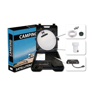 Megasat  HD Campingkoffer inkl. HD-Receiver   4046173102444