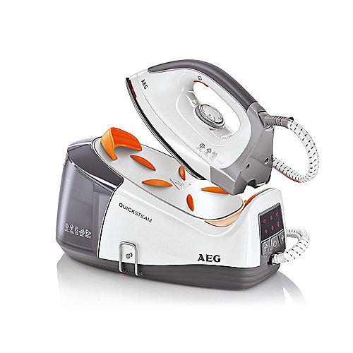 AEG DBS 3350 QuickSteam Dampfbügelstation weiß/grau | 7332543324361