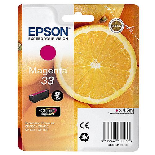 Epson C13T33434010 Druckerpatrone 33 magenta