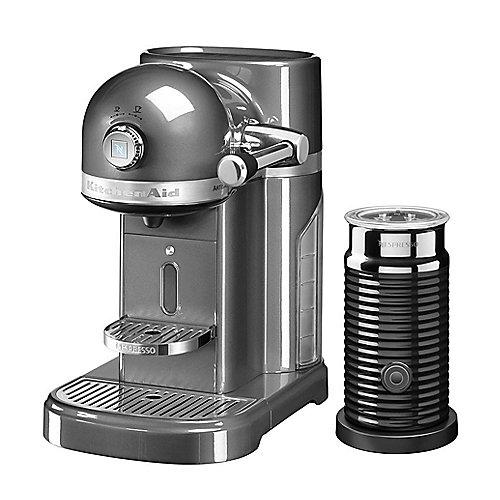 KitchenAid ARTISAN 5KES0504EMS/4 Kapselmaschine Nespresso medallion silber | 5413184702670