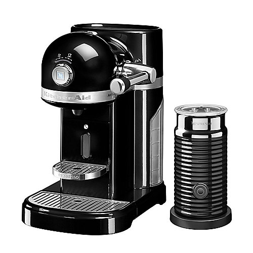 KitchenAid ARTISAN 5KES0504EOB/4 Kapselmaschine Nespresso onyx schwarz | 5413184702618