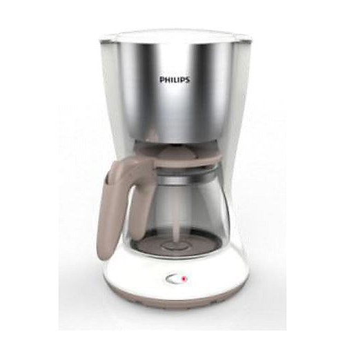Philips HD7462/01 Daily Collection Kaffeemaschine Armoa Swirl Weiß Edelstahl | 8710103762300
