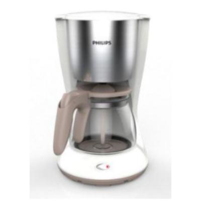 Philips  HD7462/01 Daily Collection Kaffeemaschine Armoa Swirl Weiß Edelstahl | 8710103762300
