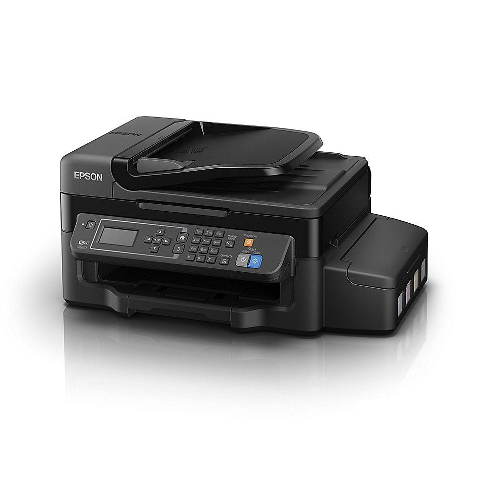 epson ecotank et 4500 drucker scanner kopierer fax wlan 3 jahre garantie cyberport. Black Bedroom Furniture Sets. Home Design Ideas