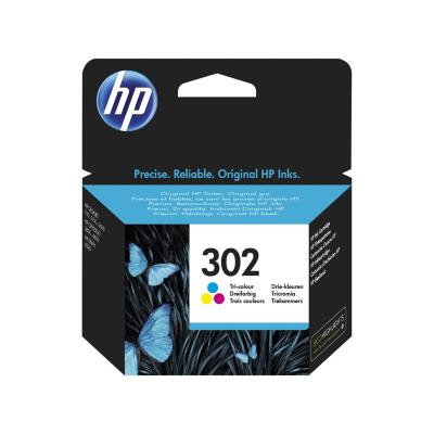 HP  302 Original Druckerpatronen farbig Cyan Magenta Gelb F6U65AE | 0888793802991