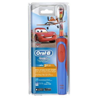 Oral-B  Stages Power Cars-Planes Elektrische Zahnbürste für Kinder ab 3 J. | 4210201128458