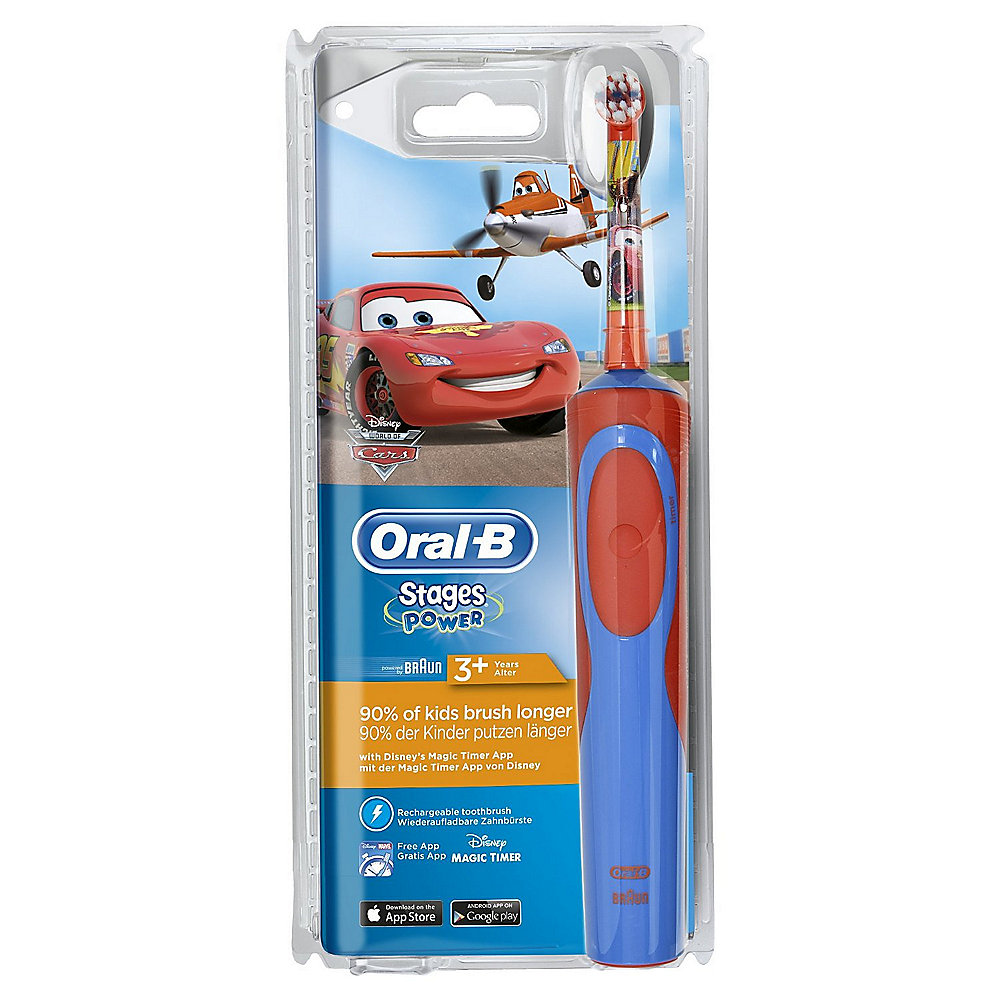 Braun Oral-B Stages Power Kids Cars Elektrische Zahnbürste