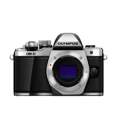 Olympus  OM-D E-M10 Mark II Gehäuse Systemkamera silber | 4545350049225