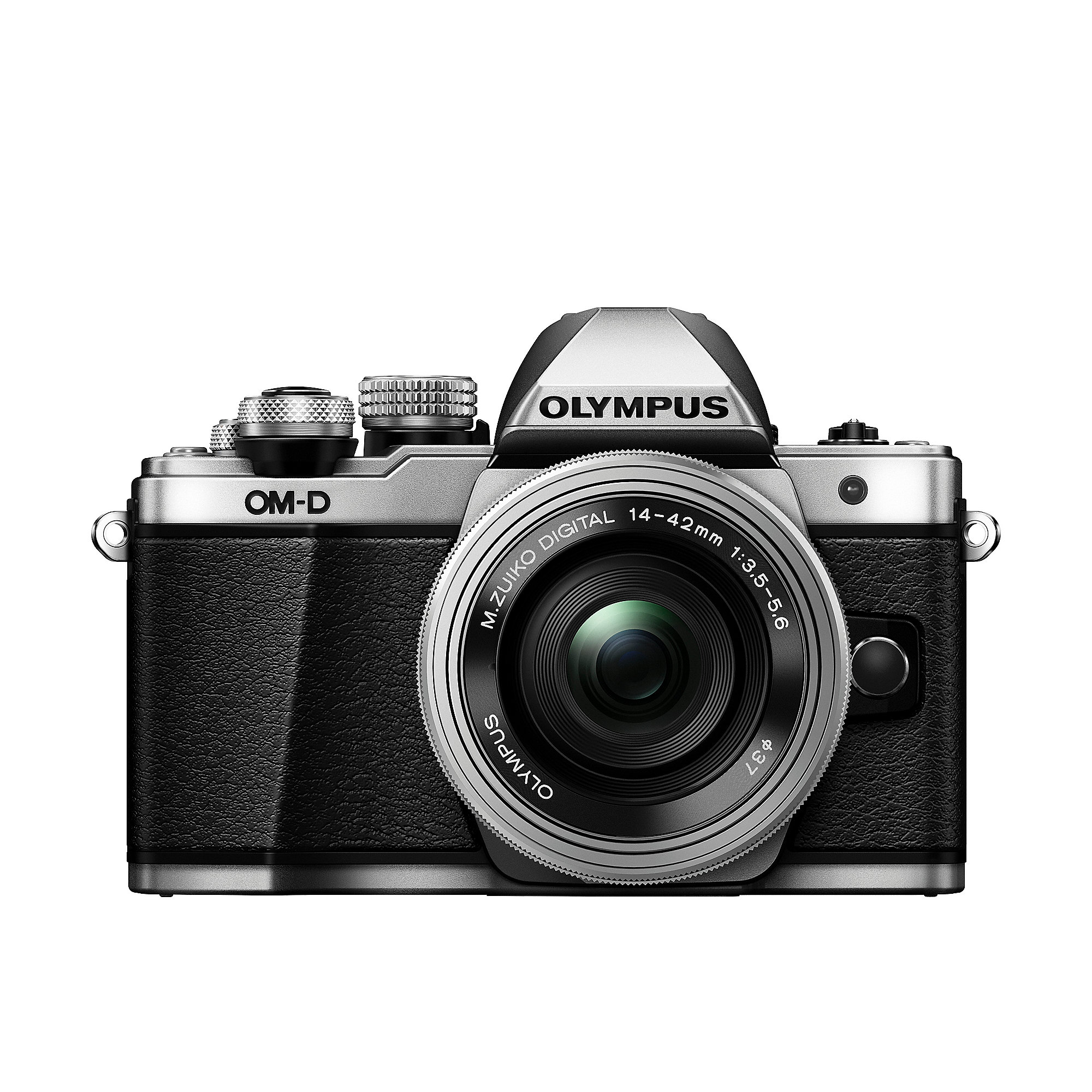Olympus OM-D E-M10 Mark II Kit 14-42mm EZ-Pancake Digitalkamera silber