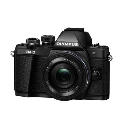 Olympus  OM-D E-M10 Mark II Kit 14-42mm EZ-Pancake Systemkamera schwarz | 4545350049287