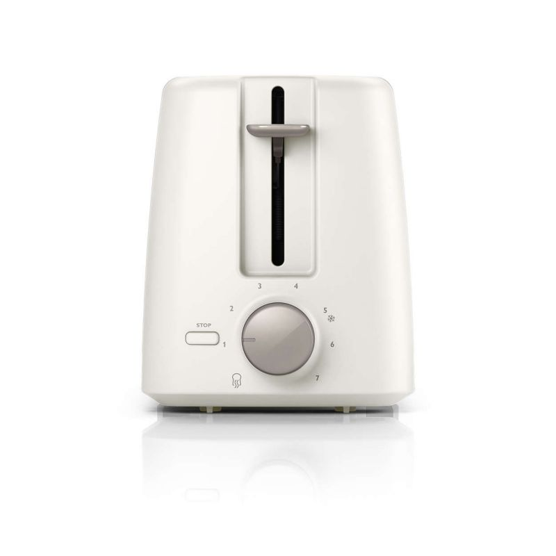 Philips Daily Collection HD4825/00 Toaster Weiß Edelstahl