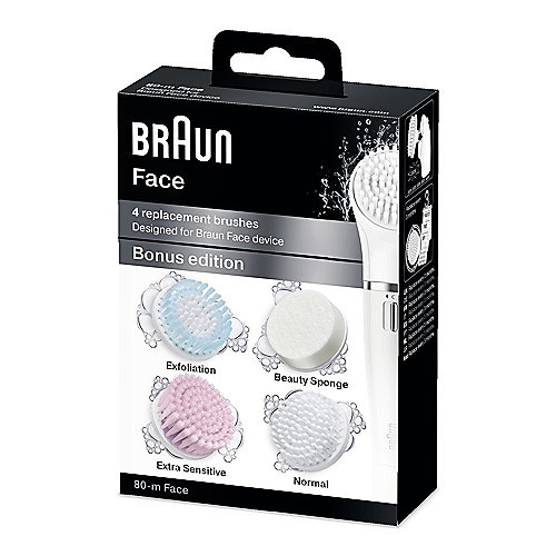 Braun Face SE80m Aufsatz-Mix 4er Pack